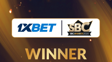 الاعتراف ب1xBet في جوائز SBC لعام 2020
